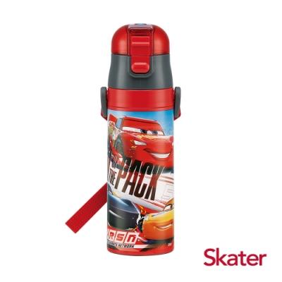Skater直飲470ml不鏽鋼水壺-閃電麥昆AHEAD