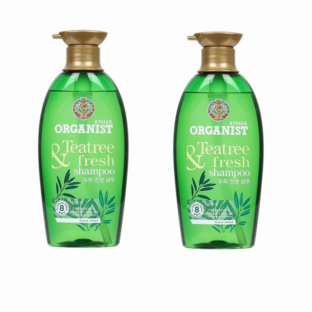 Elastine 自然主義茶樹深層潔淨洗髮精 500ml(買一送一)