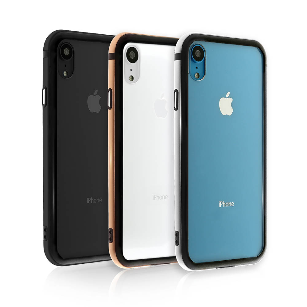 OVERDIGI iPhone XR 雙料鋁合金邊框