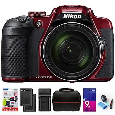 ~ 組~Nikon coolpix B700 60倍望遠可翻式螢幕類單機   貨 ~紅