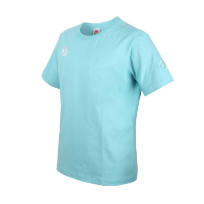 KAPPA DD52聯名男女短袖T恤-限量-菱格世代 純棉 台灣製 休閒上衣 33145BW-XND 粉綠白