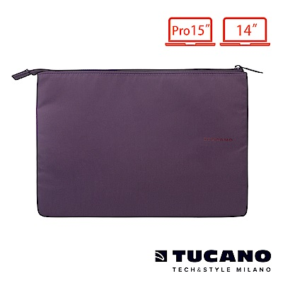 TUCANO BUSTA 信封式筆電防震內袋 14/15 紫
