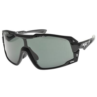 720運動太陽眼鏡 偏光眼鏡 柱面防爆PC片 Flash 閃電款/消光黑-亮腳黑-偏光灰#720S157HC C01