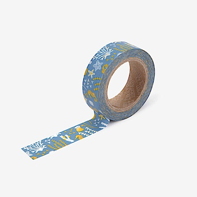 Dailylike 單捲紙膠帶 - 100 海洋之家