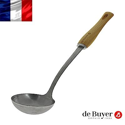 de Buyer畢耶 蜂蠟木柄系列-調理湯勺34cm