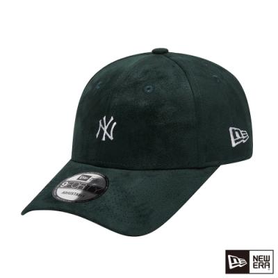 NEW ERA 9FORTY 940 類麂皮 MINI LOGO 洋基 深綠 棒球帽