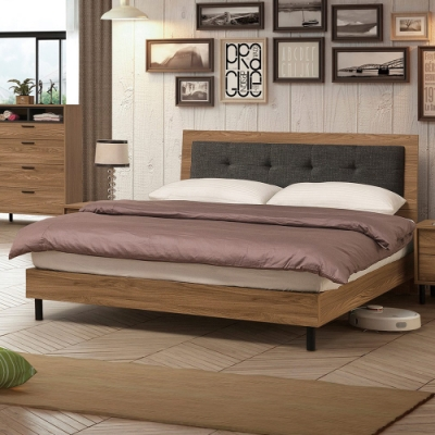 H&D 亞伯斯5尺床片型床台