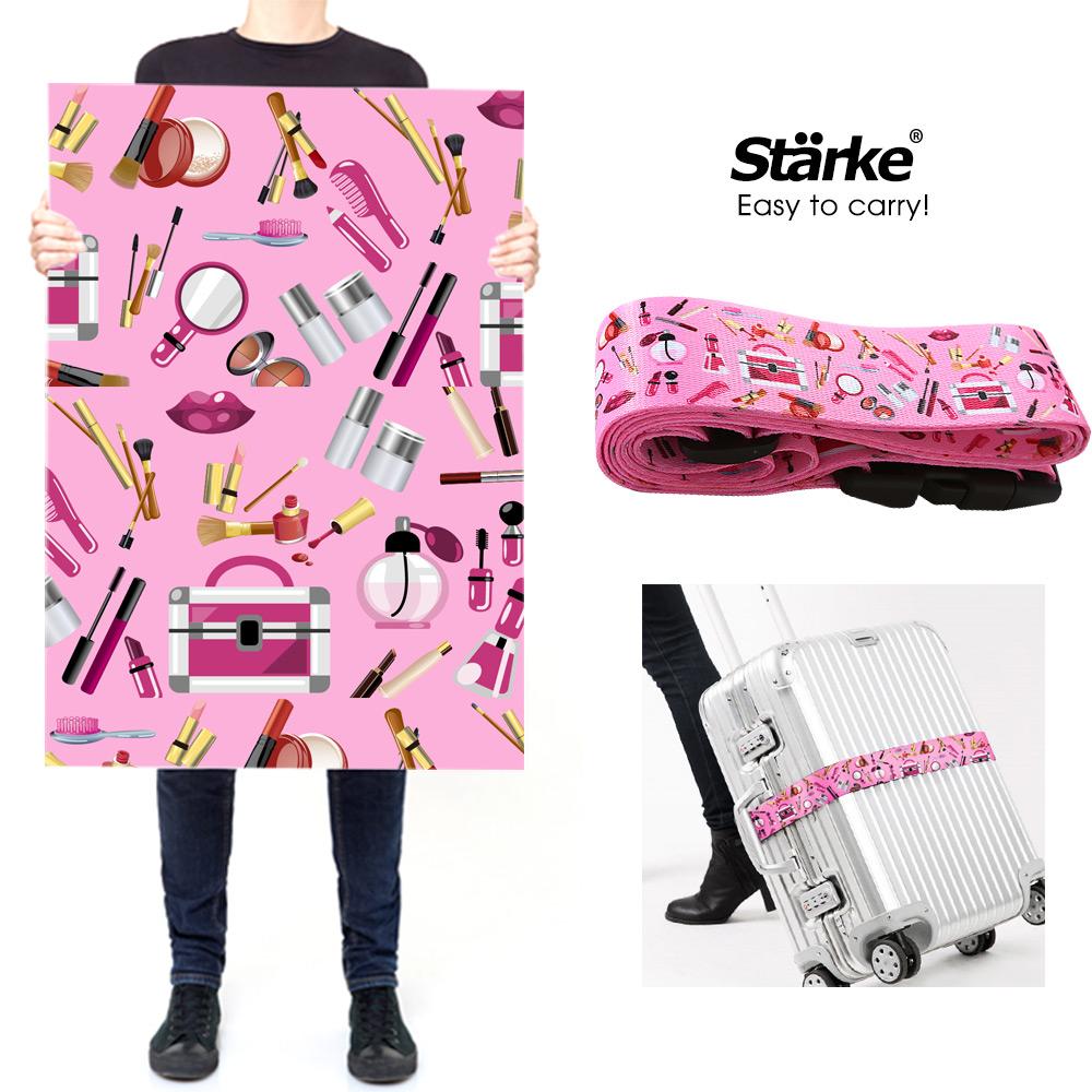 Starke 密碼鎖行李箱束帶/ 綁帶 -化妝國度