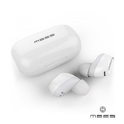 MEES T1s TWS 真無線藍牙耳機 - 質感白