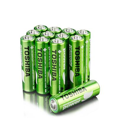 東芝TOSHIBA 環保 無鉛綠碳鋅電池 (4號16顆入)
