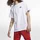 Nike NSW CLUB TEE 男短袖上衣 白-AR4999101 product thumbnail 1