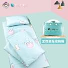 Ania Casa 吸濕排汗天絲 兒童睡墊三件組 鋪棉涼被 台灣製 -類似愛