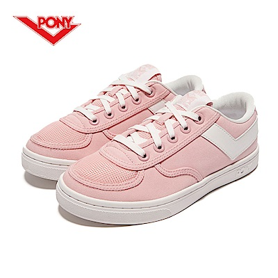 【PONY】Slam Dunk 個性風格滑板鞋款-女-粉