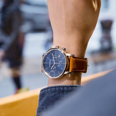WENGER Urban 移動迷宮計時腕錶(01.1743.104)藍/44mm