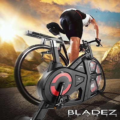 【BLADEZ】H9120-AirMag風扇磁控飛輪健身車