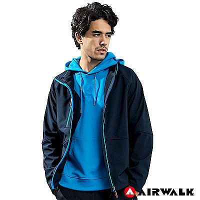 【AIRWALK】男款貼合外套-黑色