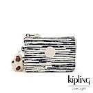 Kipling 線條塗鴉紋三夾層配件包-CREATIVITY S
