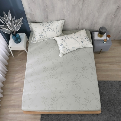 鴻宇 雙人床包組 天絲300織 米堤 台灣製