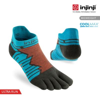 【INJINJI】Ultra Run終極系列五趾隱形襪 [土耳其藍]