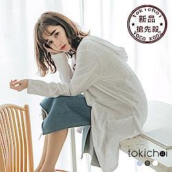 東京著衣-品牌嚴選多色親膚連帽開襟雙口袋外套-S.M.L(共三色)