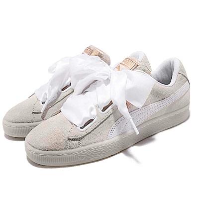 Puma 休閒鞋 Suede Heart Artica 女鞋