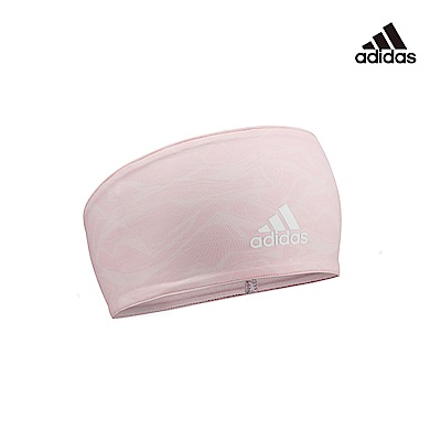 Adidas Yoga 雙面高彈性吸汗頭帶(石紋橙)