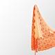 【F.M&Carol】維多麗系列-100%SILK純絲綢絲巾(愛馬士橘) product thumbnail 1