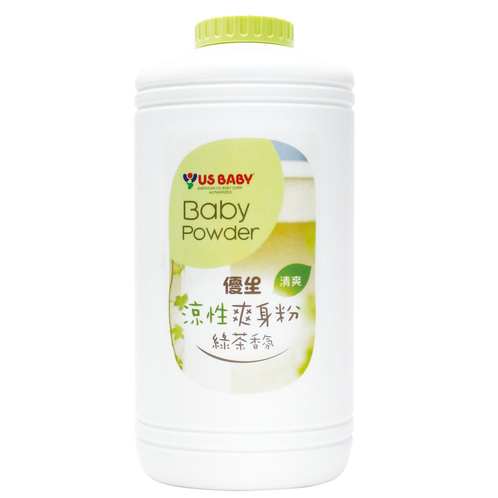 【優生】涼性爽身粉-綠茶香氛300g-任