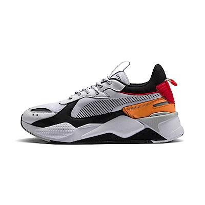 PUMA-RS-X TRACKS 男女復古慢跑運動鞋-白色