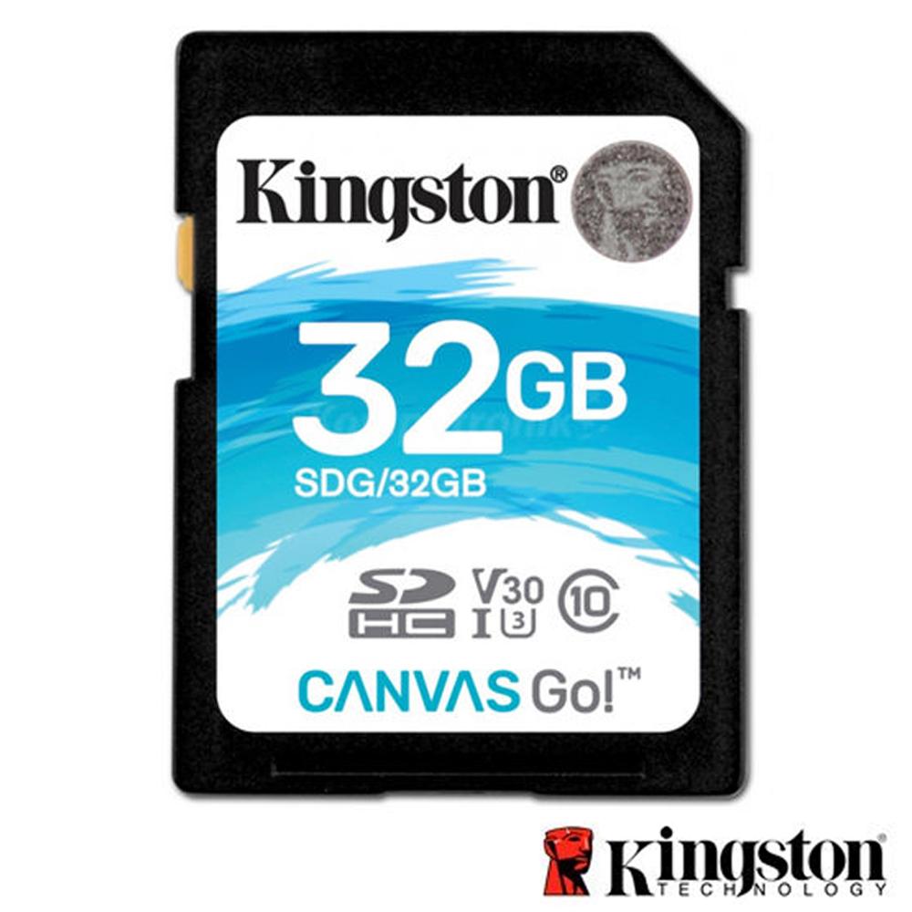 Kingston 金士頓 32G U3 SDHC UHS-I V30 記憶卡 SDG @ Y!購物