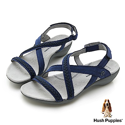 Hush Puppies THEIA 機能涼鞋-深藍