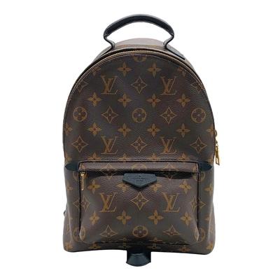 Louis Vuitton 展示品 Palm Springs PM 經典花紋後背包(M44871-咖)