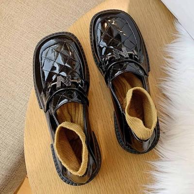 KEITH-WILL時尚鞋館 優雅摩登女伶美型樂福鞋