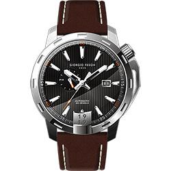 GIORGIO FEDON 1919 永恆系列運動版機械錶-黑x咖啡/45mm