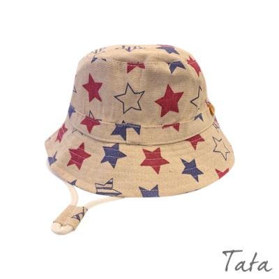 童裝 雙色星星棉麻漁夫帽 TATA KIDS