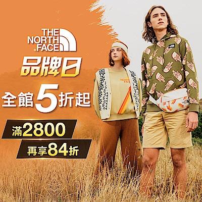 The North Face 品牌日5折起 滿額84折