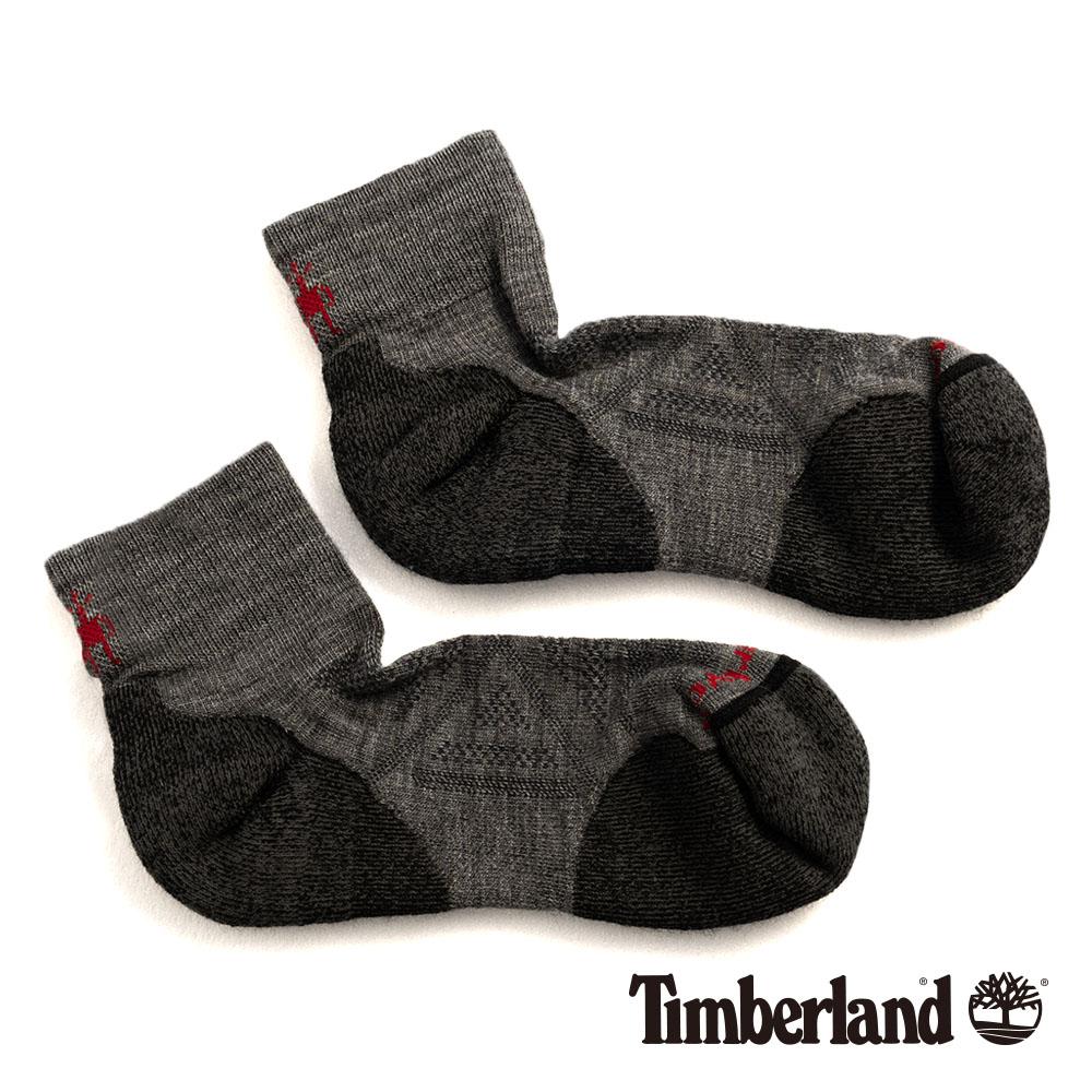 Timberland 男款中灰色麻灰低筒襪|01066