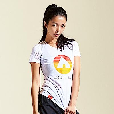 【AIRWALK】夏日經典棉圓領T恤-白色