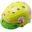 花維尼自行車兒童可調整式安全帽-黃色-8H