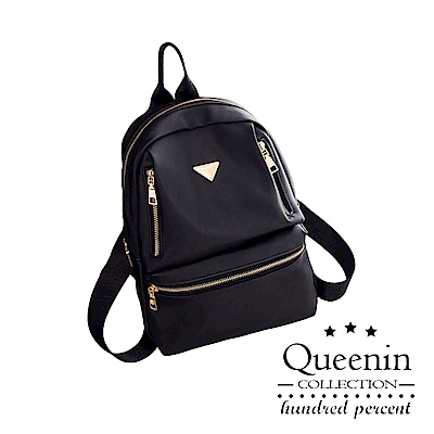 DF Queenin日韓 - 東大門最新時尚雙肩後背包