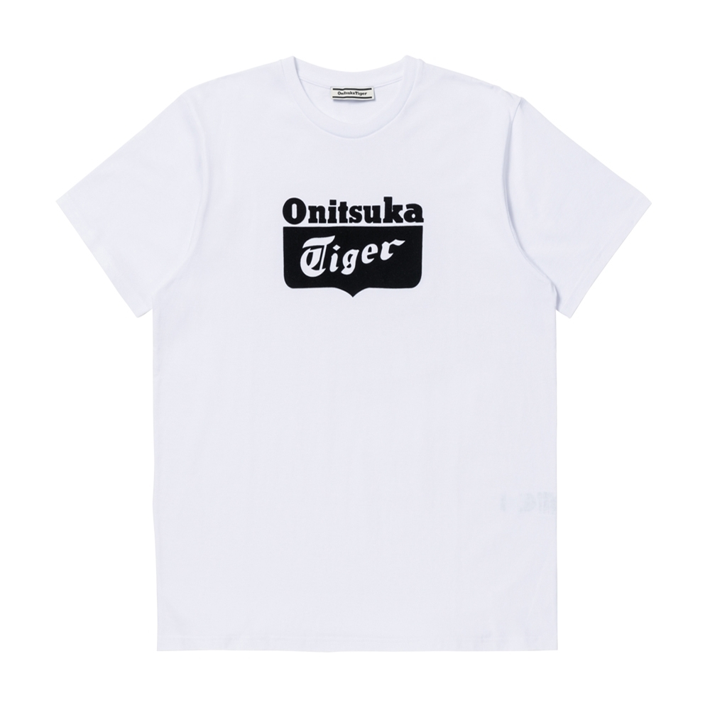 Onitsuka Tiger鬼塚虎-LOGO短袖T恤 (白)2183A483-103