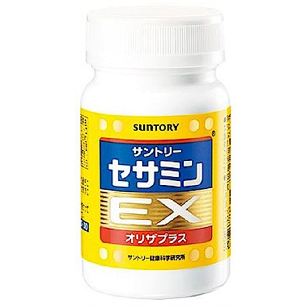 (折價券)SUNTORY三得利 芝麻明EX(30日份/90錠) X1罐