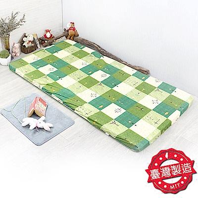 You Can Buy 青竹高密度冬夏雙用三折床墊-單人(單人三折墊)
