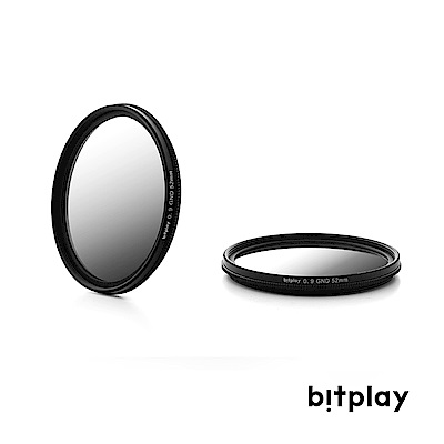 bitplay M52 GND 漸層減光濾鏡(含轉接環/僅適用於HD高階鏡頭系列) @ Y!購物