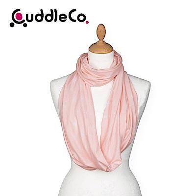 英國CuddleCo 多功能時尚造型哺乳圍巾-粉紅泡泡