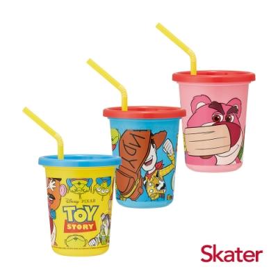 【任】Skater日本製3入水杯(320ml) Toy Story