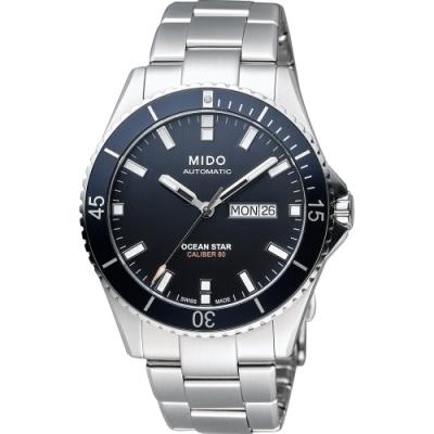 MIDO 美度 Ocean Star Caliber 80 200米潛水機械錶-42mm M0264301105100