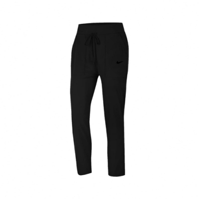 Nike 長褲 Bliss Luxe Pants 女款 運動休閒 七分褲 彈性伸縮 輕量 小Logo 黑 CU4604010