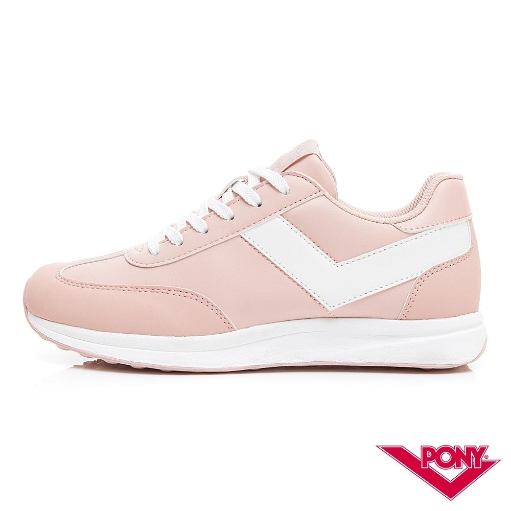 【PONY】Montreal 輕量時尚運動鞋 慢跑鞋 休閒鞋-女鞋 粉紅