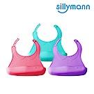 韓國sillymann-100%鉑金矽膠幼兒軟式圍兜 (顏色任選)